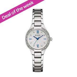 739908fec09d Bulova Women s Diamond Stainless Steel Watch 2