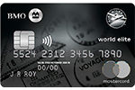 Mastercard<sup>MD</sup>* BMO AIR&nbsp;MILES<sup>md</sup> World&nbsp;Elite<sup>MD</sup>*