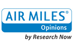 AIR MILES<sup>&reg;</sup> Opinions by Research&nbsp;Now