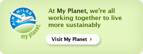 At My Planet, we're all working together to live more sustainably